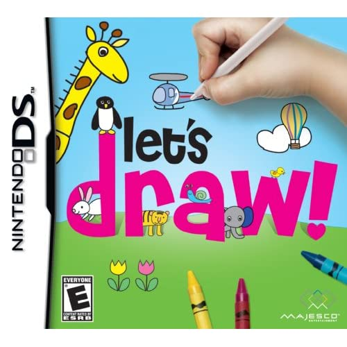 Image 0 of Let's Draw! For Nintendo DS DSi 3DS 2DS