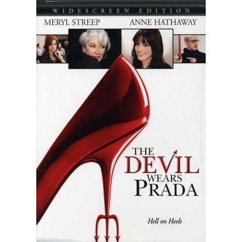The Devil Wears Prada Widescreen Edition On DVD With Anne Hathaway