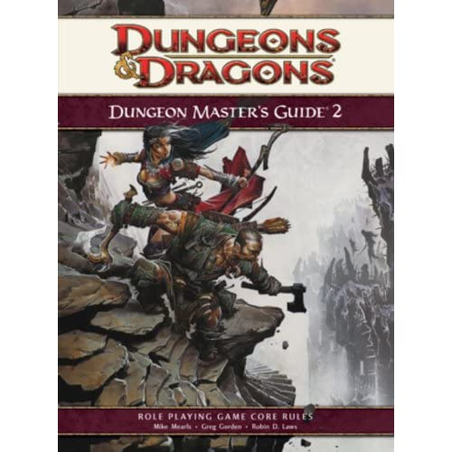 Dungeon Master's Guide 2: Roleplaying Game Supplement 4th Edition D&d Strategy G