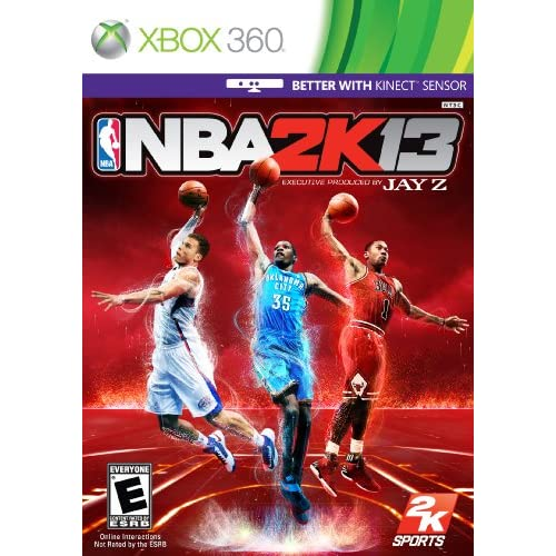 NBA 2K13 For Xbox 360 Basketball