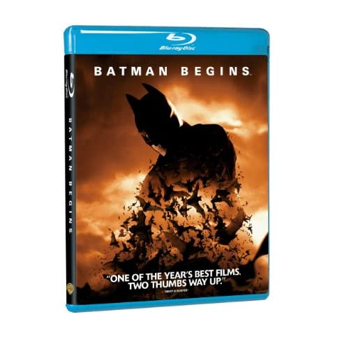 Image 0 of Batman Begins Blu-Ray On Blu-Ray With Christian Bale