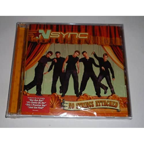 Image 0 of No Strings Attached By 'N Sync On Audio CD Album 2000