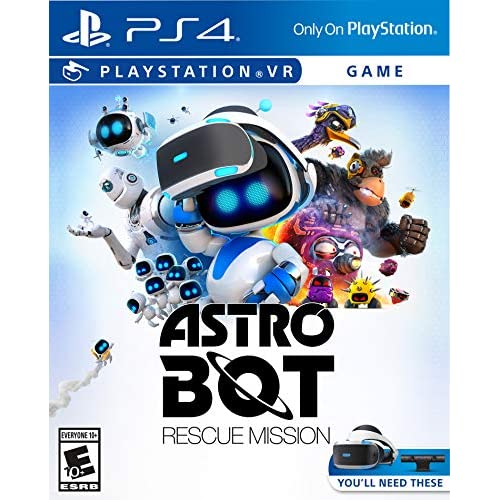 Astro Bot Rescue Mission PlayStation VR For PlayStation 4
