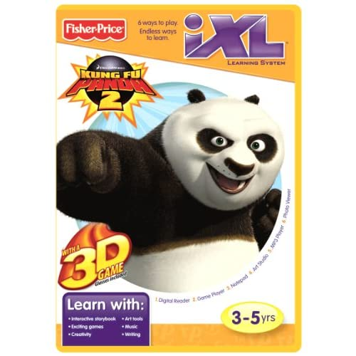 Image 0 of Fisher-Price Ixl Learning System Software Kung Fu Panda 3D