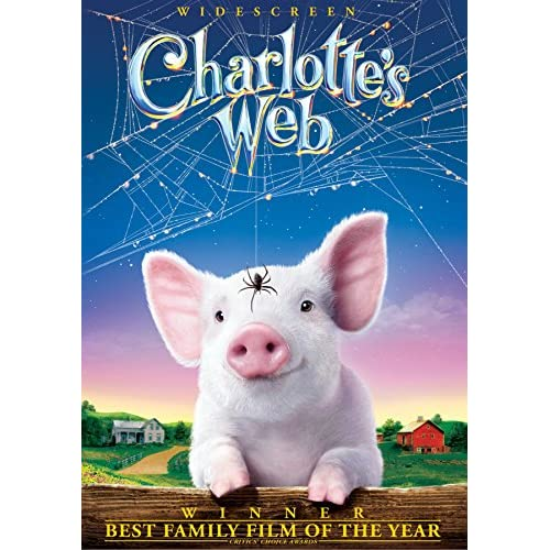 Charlotte's Web 2006 On DVD With Oprah Winfrey