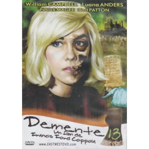 Image 0 of Demente 13 Slim Case On DVD With William Campbell