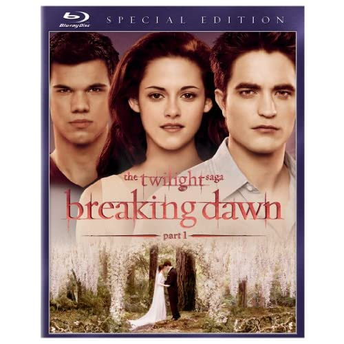 Image 0 of The Twilight Saga: Breaking Dawn Part 1 Special Edition Blu-Ray On Blu-Ray With