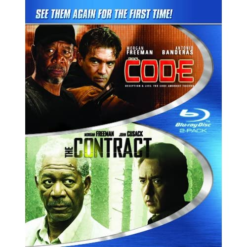 Image 0 of Code And The Contract Blu-Ray On Blu-Ray With Morgan Freeman