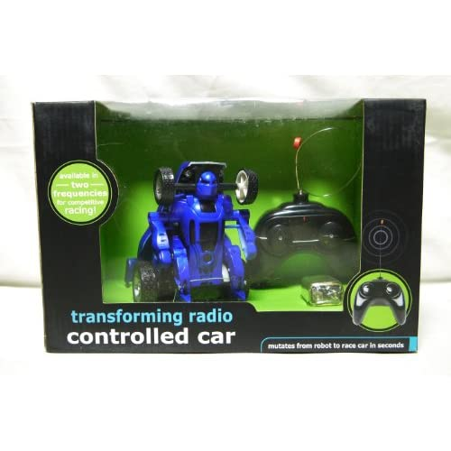 Black Series Transforming Robot Car Jr Toy