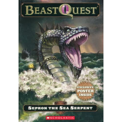 Sepron The Sea Serpent BeastQuest Book 2 By Adam Blade Book Paperback