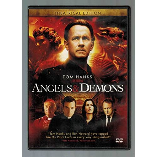Image 0 of Angels And Demons On DVD With Hanks Tom