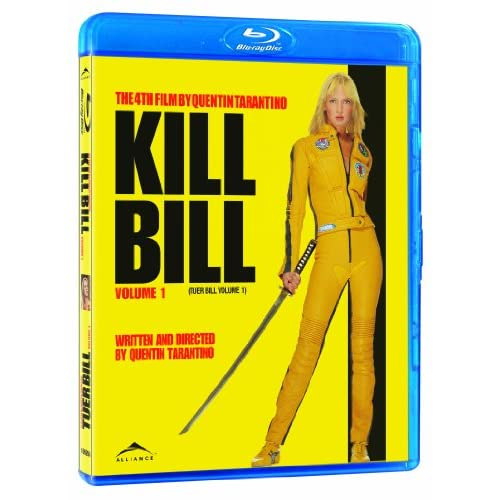 Image 0 of Kill Bill Volume One Blu-Ray On Blu-Ray With Uma Thurman