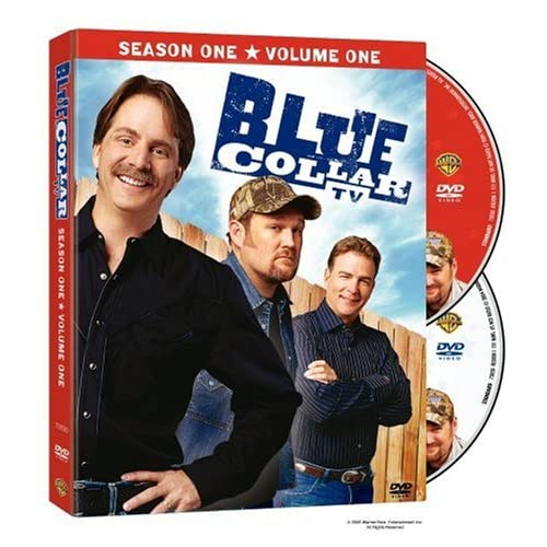 Image 0 of Blue Collar TV Season 1 Vol 1 On DVD With Jeff Foxworthy Comedy
