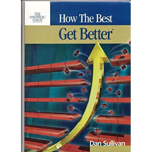 Image 0 of How The Best Get Better Book And Cassettes By Dan Sullivan On Audio Cassette