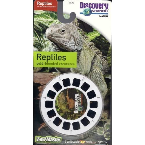 Discovery Channel Reptiles 3D View-Master 3 Reel Set Toy
