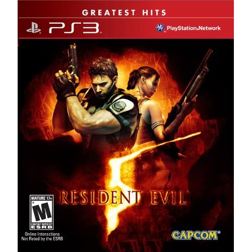 Resident Evil 5 For PlayStation 3 PS3
