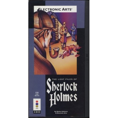 The Lost Files Of Sherlock Holmes 3DO For 3DO Vintage With Manual and Case