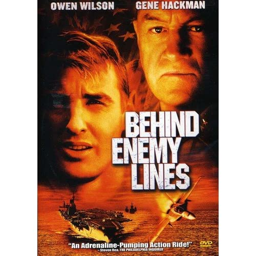 Image 0 of Behind Enemy Lines On DVD With Gene Hackman