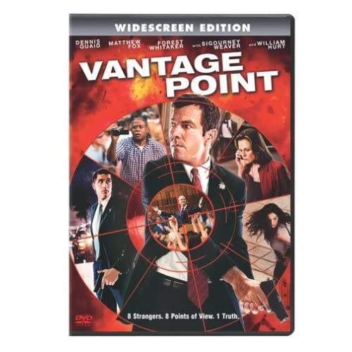 Image 0 of Vantage Point With Dennis Quaid Mystery On DVD