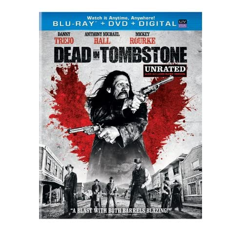 Image 0 of Dead In Tombstone Blu-Ray On Blu-Ray With Danny Trejo