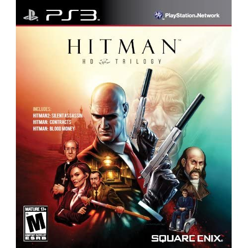 Hitman Trilogy HD Premium Edition For PlayStation 3 PS3