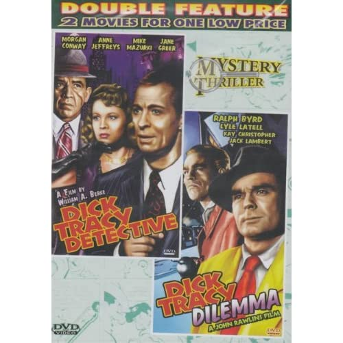 Image 0 of Dick Tracy Detective / Dick Tracy Dilemma Slim Case On DVD With Morgan Conway My