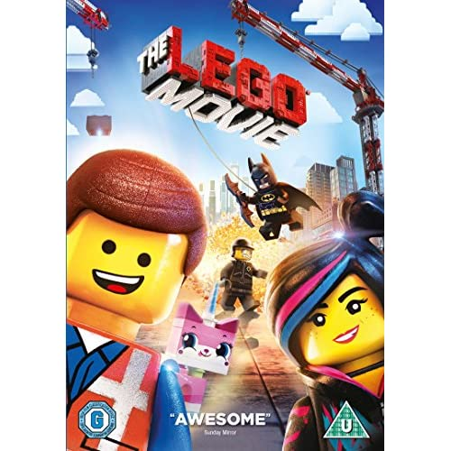 The Lego Movie DVD 2014