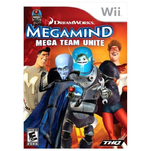 Megamind Mega Team Unite For Wii With Manual and Case