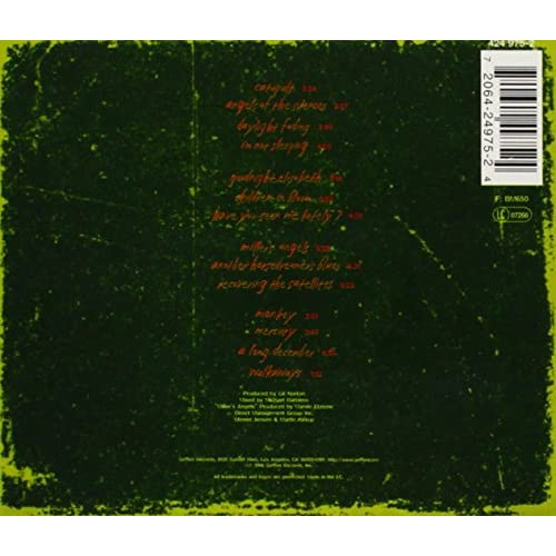 Image 3 of Recovering The Satellites By Counting Crows On Audio CD Album 1996