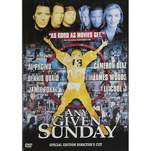 Image 0 of Any Given Sunday On DVD