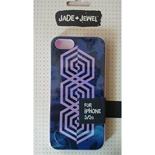 Image 2 of Jade & Jewel Purple iPhone 5 5S SE Case Cover Fitted CO8192