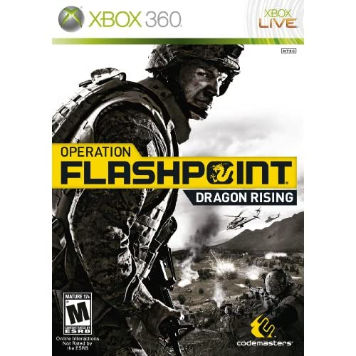 Shooting Games For Xbox 360 : Operation flashpoint dragon rising for xbox shooter