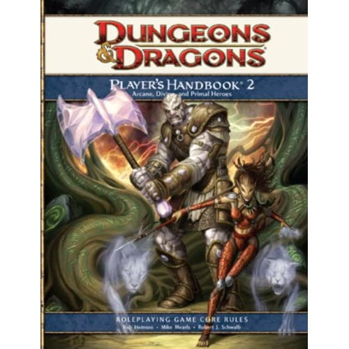 Dungeons And Dragons: Player's Handbook 2- Roleplaying Game Core Rules Strategy