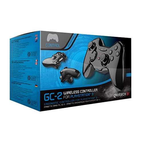 GC-2 Wireless Controller For PlayStation 3 Black Gamepad OQG397