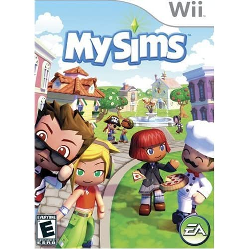 Broken Mysims For Wii