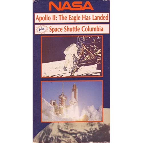 Apollo 2 The Eagle Has Landed Space Shuttle Columbia On VHS