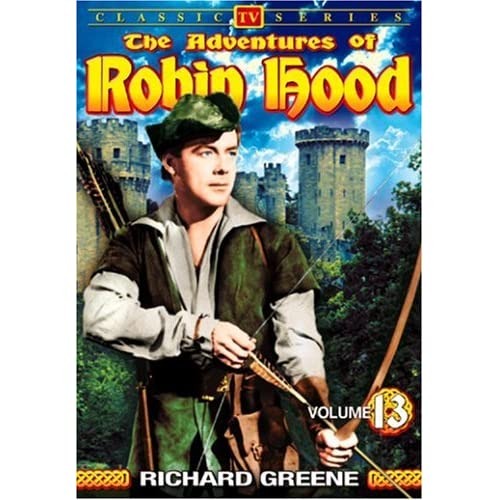 Image 0 of The Adventures Of Robin Hood Vol 13 On DVD
