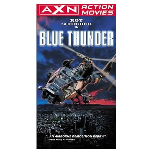 Blue Thunder On VHS With Roy Scheider