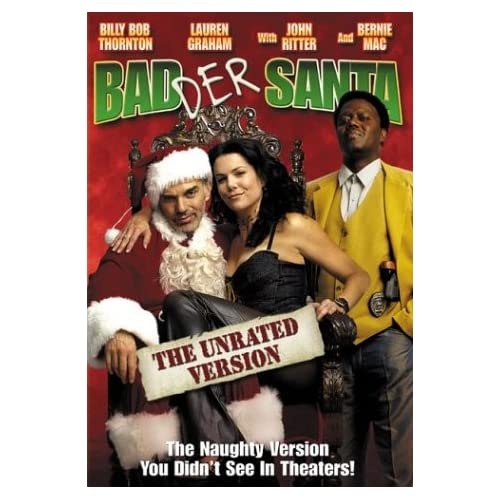 Image 0 of Badder Santa Unrated Widescreen Edition On DVD With Billy Bob Thornton Comedy