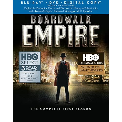 Image 0 of Boardwalk Empire: Complete First Season Blu-Ray/dvd Combo Digital Copy