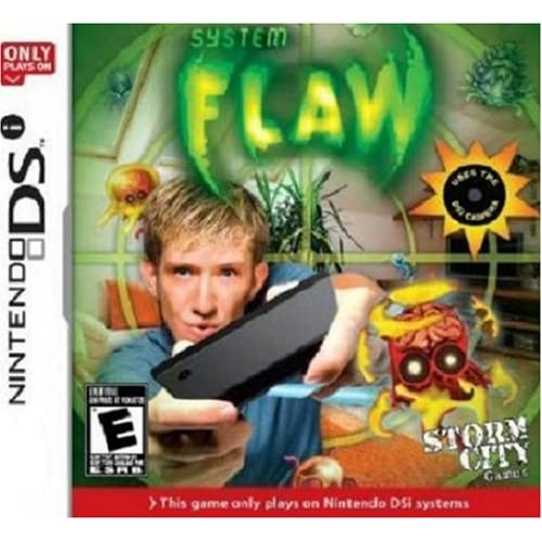 Image 0 of System: Flaw Only For Nintendo DSi 3DS 2DS Shooter Brand New