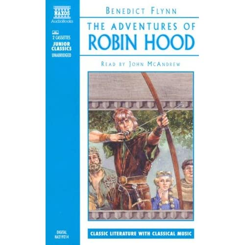 Image 0 of Robin Hood By Benedict Flynn And John Mcandrew Reader On Audio Cassette