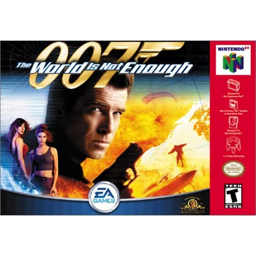 007 The World Is Not Enough For N64 Nintendo