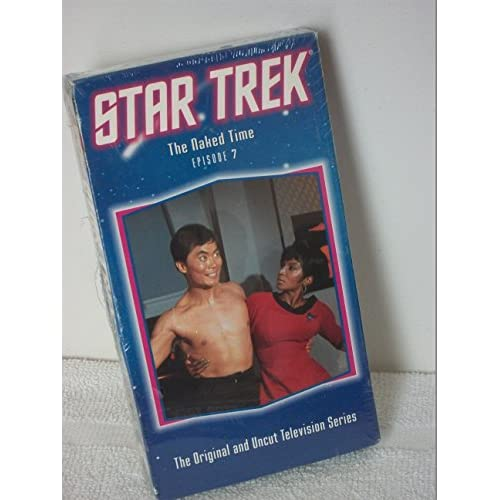 Image 0 of Star Trek The Original Series Episode 7: The Naked Time On VHS With William Shat