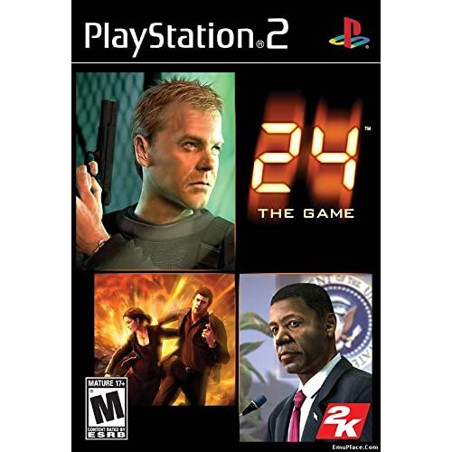 24 The Game For PlayStation 2 PS2