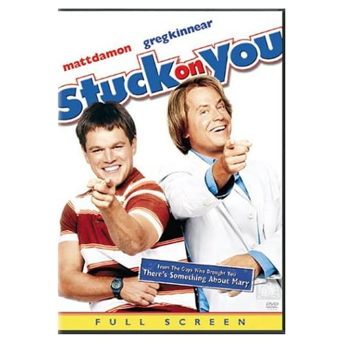 Image 0 of Stuck On You Full Screen Edition On DVD With Matt Damon Drama