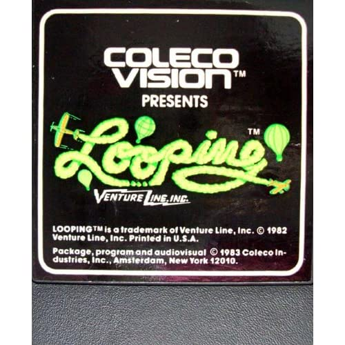 Looping Colecovision & Adam For Atari Colecovision Vintage