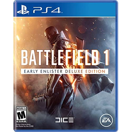 Battlefield 1 Early Enlister Deluxe Edition For PlayStation 4 PS4 Shooter