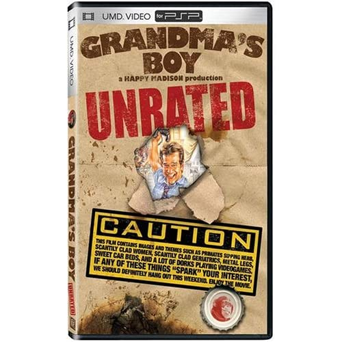 Image 0 of Grandma's Boy: Unrated Edition UMD For PSP