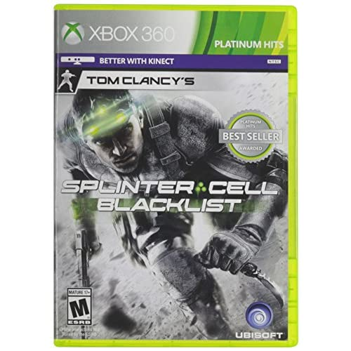 Shooting Games For Xbox 360 : Tom clancy s splinter cell blacklist for xbox shooter